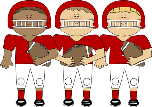Kids and sports clip art