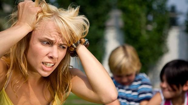 stressed mom