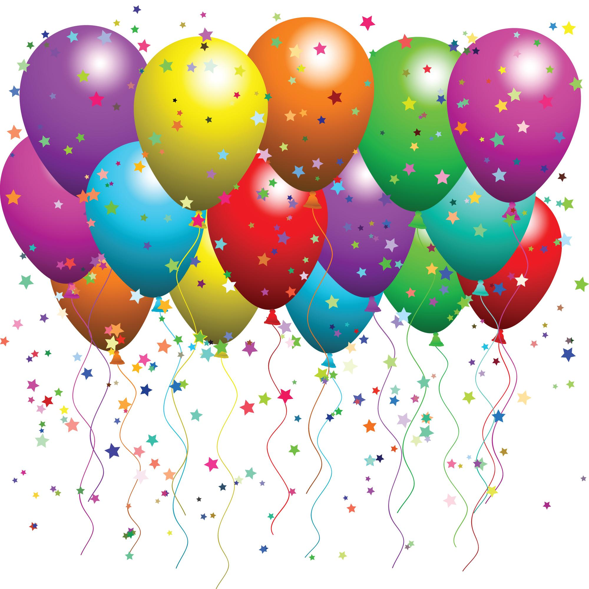 Fabulous Birthday Balloons Clip Art 2000 x 2000 · 280 kB · jpeg