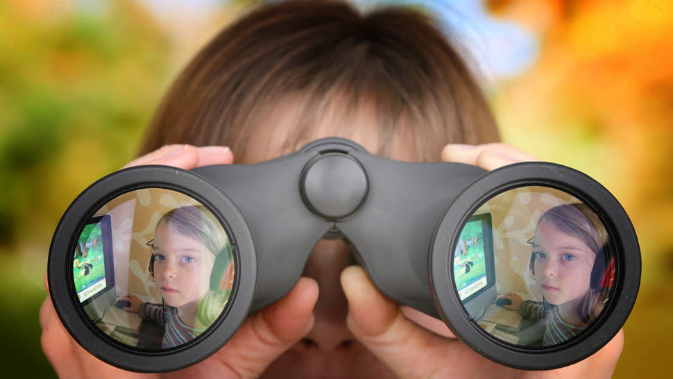 snooping on kids