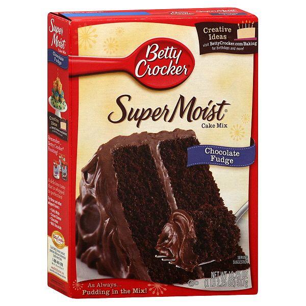 Betty Crocker Double Chocolate Cake