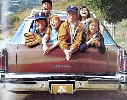1970s station wagon kids