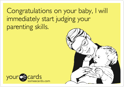judgement parenting